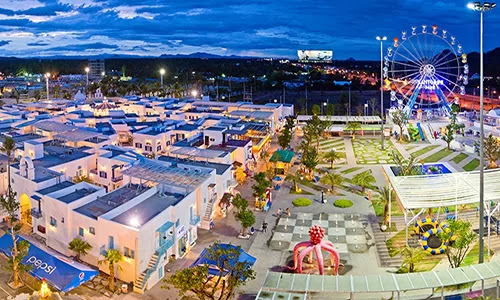 "Miniature ""Santorini"" of Hua Hin is the attractive destination of many young people. Photo: Hua Hin Paradise City."