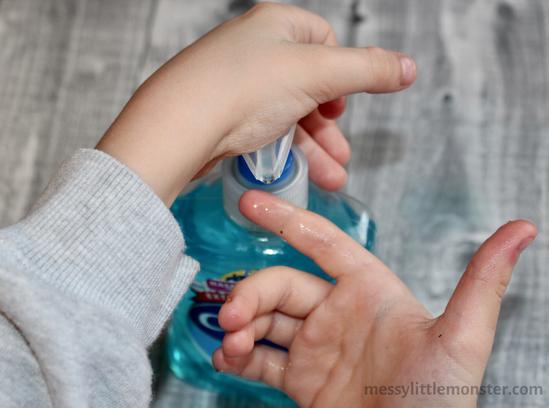 hand washing activities for kids