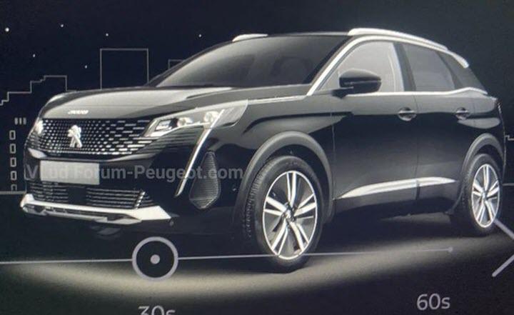 Rò rỉ kiểu dáng Peugeot 3008 2021