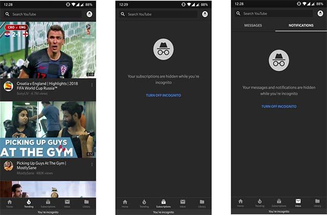 Menonton YouTube dalam Mode Penyamaran Di Android