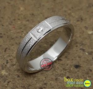 cincin kawin platina 7006Pt