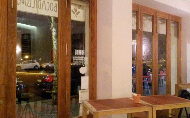 Interior, Bocadillería de Jamón y champán