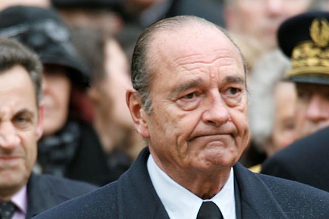 Jacques Chirac Meninggal Dunia