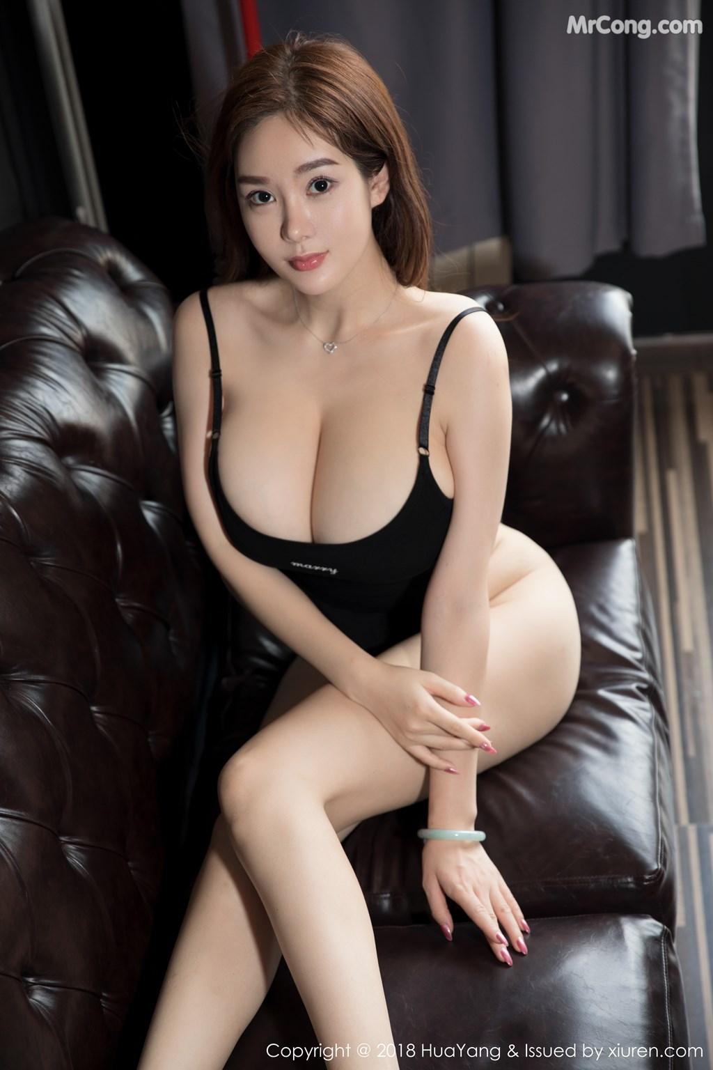 Image HuaYang-2018-08-09-Vol.068-Silvia-MrCong.com-015 in post HuaYang 2018-08-09 Vol.068: Người mẫu 易阳Silvia (41 ảnh)