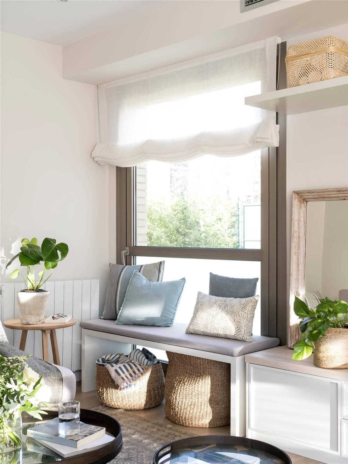 Un banco bajo la ventana ¡Ideas para vuestra casa!_8