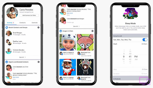 تطبيق ماسنجر كيدز   Messenger Kids