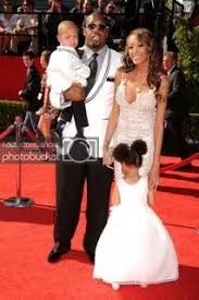Terrell Suggs With His Family