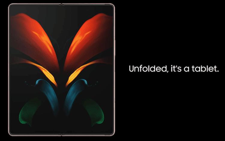 Galaxy Z Fold 2 - Unfolded Tablet