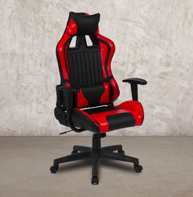 X20 Red and Black Leather Gaming Chair