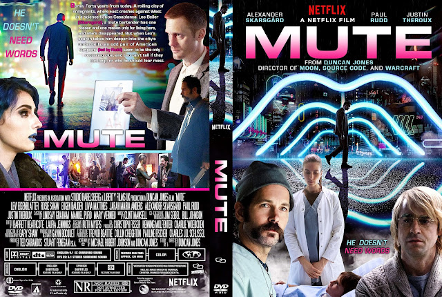 Mute DVD Cover
