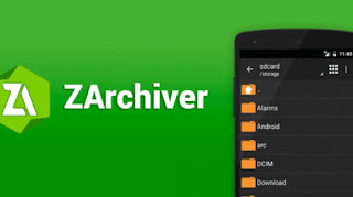 ZArchiver Tutorial on how to Extract
