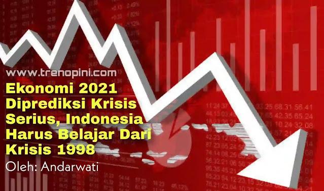 Memasuki tahun 2021, berbagai ramalan masa depan perekonomian Indonesia kembali meramaikan jagat maya. Menteri Keuangan Sri Mulyani tetap optimis pertumbuhan ekonomi tahun ini akan positif. Ia memproyeksikan pertumbuhan pada bulan Maret-April akan mencapai 4,5 – 5,5 persen, begitu pula pada Mei-Juni. IMF juga menilai proyeksi ekonomi Indonesia dalam zona positif, dimana ekonomi mulai mengalami rebound pada semester kedua 2020. IMF memperkirakan ekonomi Indonesia akan tumbuh 4,8 persen pada 2021 dan 6 persen pada 2022. Thomas Helbling, Mission Chief IMF untuk Indonesia, mengatakan bahwa undang-undang Cipta Kerja akan mengurangi hambatan bagi investasi penciptaan lapangan kerja baru dan meningkatkan produktivitas, lebih dari itu penerapan Regional Comprehensive Economic Partnership (RCEP) di Indonesia, dapat memperkuat manfaat bagi Tanah Air .