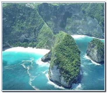 Gambar pemandangan pantai di Bali