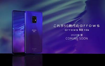 Leck reveals Fujitsu Arrow 5G phone design and specifications
