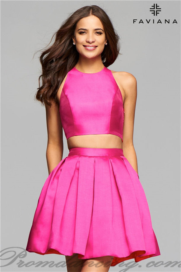 Where to Get Cheap Prom Dresses 2017: Get a Satin Short Prom Dresses ...