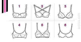 Jenis-jenis bra - Tips Cara Memilih Bra BH Yang Sesuai Tepat Baik Dan Benar