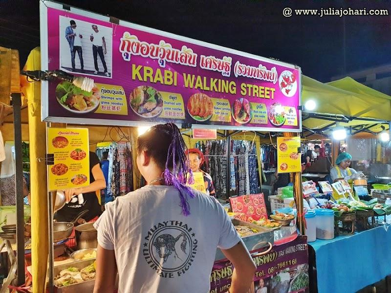 KRABI Part 6 | Krabi Night Market dan Ao Nang Night Market jalan-jalan cari makan.