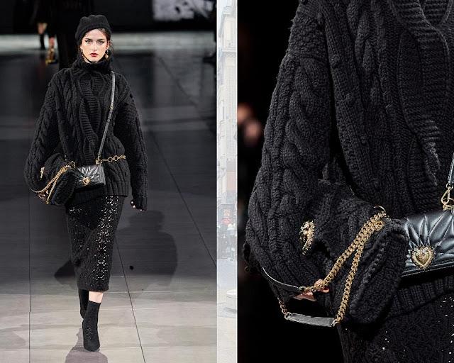 Dolce & Gabbana осень-зима 2020-2021 4
