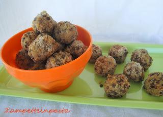 Polpette di quinoa e lenticchie - Ricetta con la quinoa