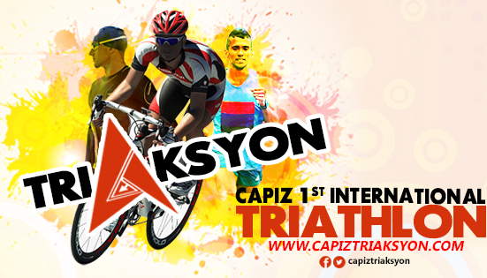 Capiz Triathlon 2017 at the Seafood Capital