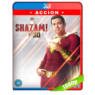 ¡Shazam! (2019) 3D SBS BDRip 1080p Audio Dual Latino-Ingles