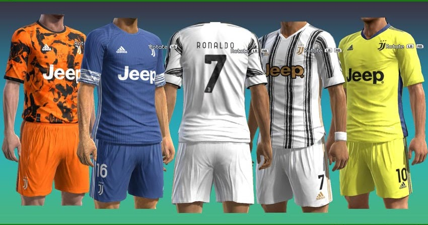 Download Juventus Kit 2021 Pes