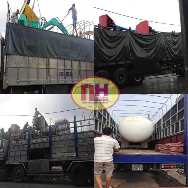 Hàng máy móc bồn chứa xe cơ giới