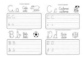 Caligrafia para imprimir e caderno de caligrafia - Atividade Caligrafia - 8