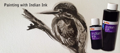 Painting with Indian Ink