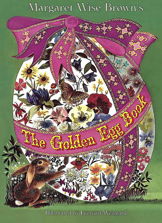 a Leonard Weisgard children's book illustration for The Golden Egg Book