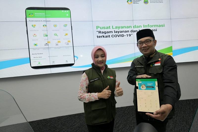 Ridwan Kamil Launcing Aplikasi PIKOBAR