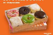 Promo Dunkin Donuts Pesan Antar Grabfood atau GoFood Periode 24 - 31 Maret 2020
