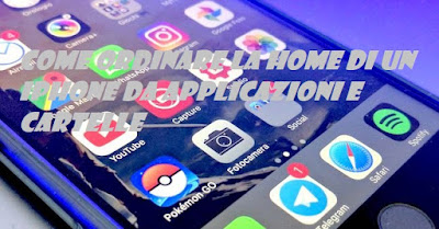 Come ordinare schermata Home da applicazioni e cartelle su iPhone: TUTORIAL