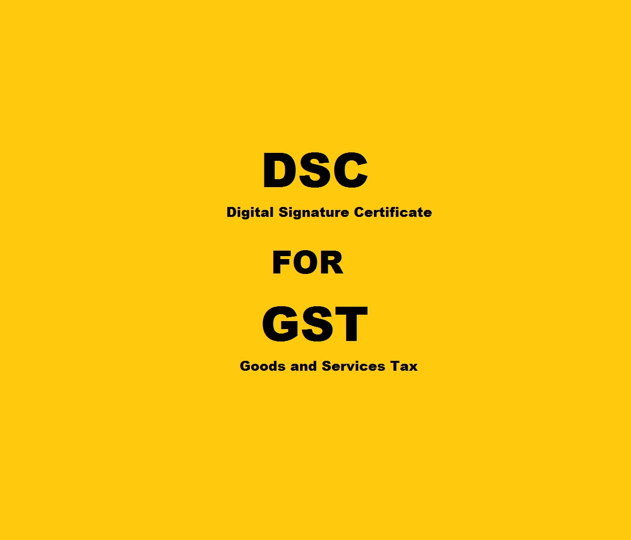 Register And Update Digital Signature Certificate Dsc For Gst