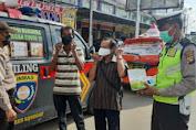 Wakapolres Sanggau Pimpin Apel Pelepasan Mobile Masker Di Mapolres Sanggau