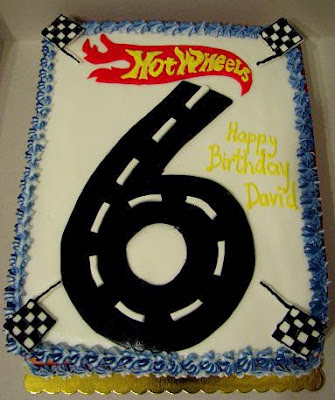Snooky Doodle Cakes Hot Wheels Cake