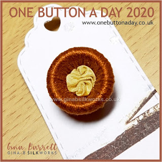 One Button a Day 2020 by Gina Barrett - Day 40 : Cup