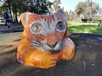 BIG Cat in Wetherill Park   Sydney Public Art