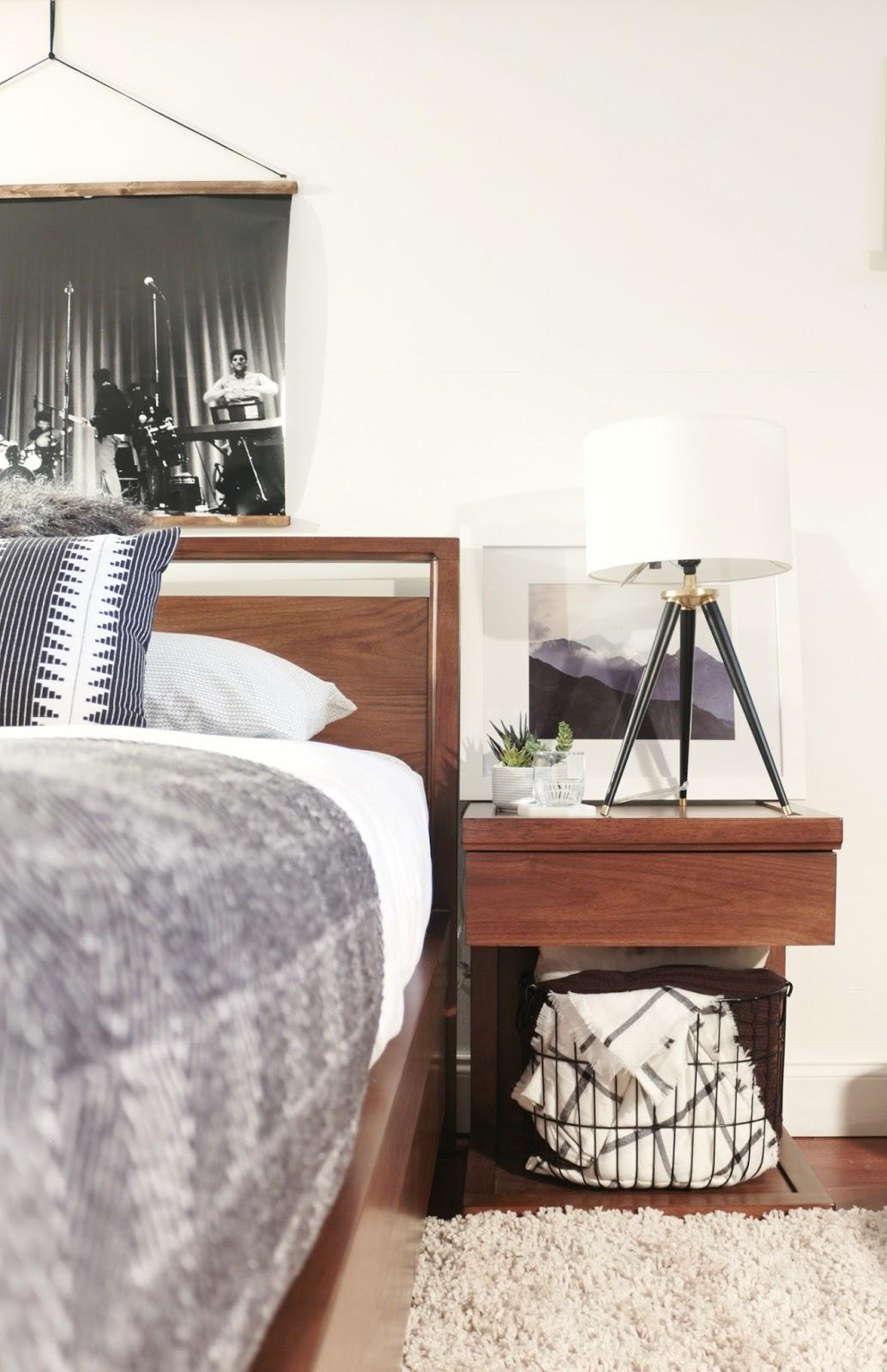 Made by Carli: Teen Boy's Basement Bedroom Reveal on Teenager Basement Bedroom  id=42398