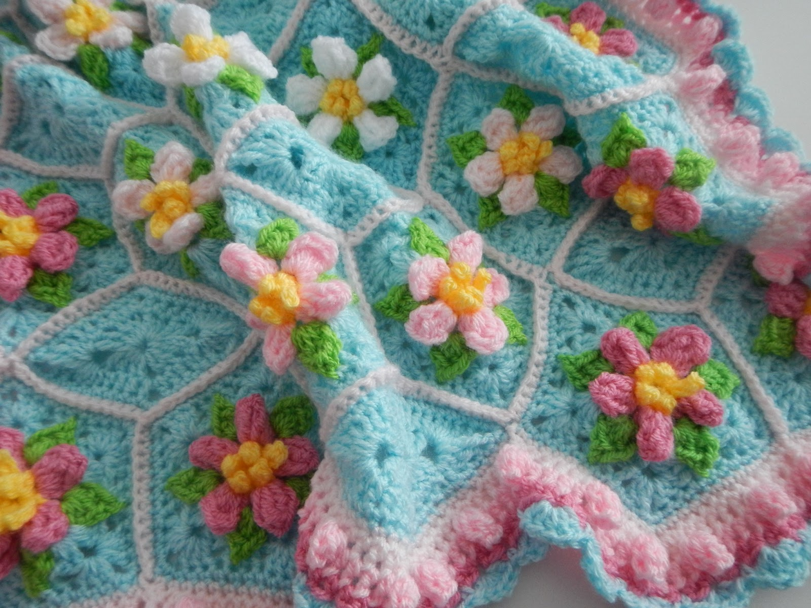 Apple Blossom Dreams Apple Blossom Dreams Afghan Banner Lazy Sunday Activity