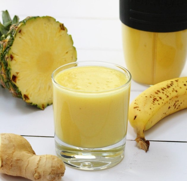 3 Variant Pineapple Banana Smoothie Recipe