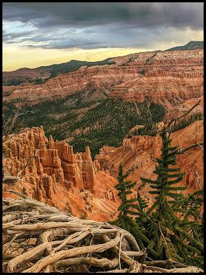 Sunrise at Cedar Breaks Ramparts Spectra Trail