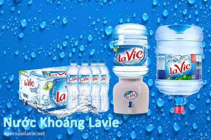 Uống nước khoáng Lavie bình 19L để bảo vệ sức khỏe cả gia đình