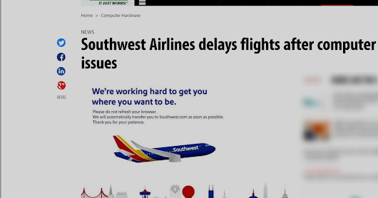 Single Router Failure Blamed on Southwest Outage