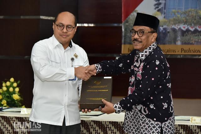 Dapat WTP Beruntun 3 Kali, Ketua DPRD Apresiasi Pemkab Trenggalek