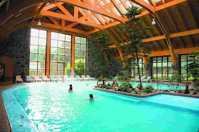 Puyehue Hot Springs Resort, South of Chile.