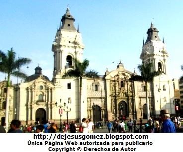Foto de la iglesia de la Catedral de Lima - Perú. Iglesia tomada por Jesus Gómez