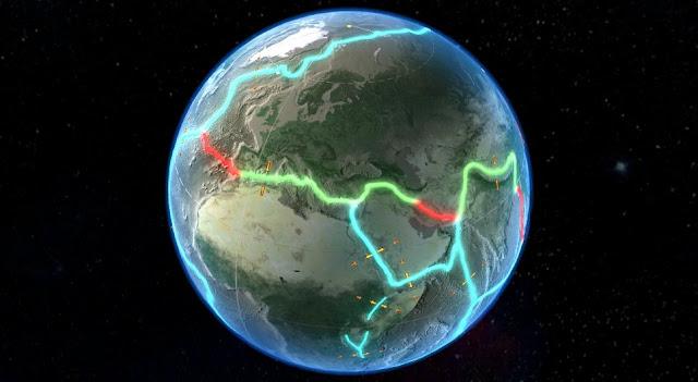 La placa tectónica gigante debajo del Océano Índico se esta dividiendo en dos según estudio