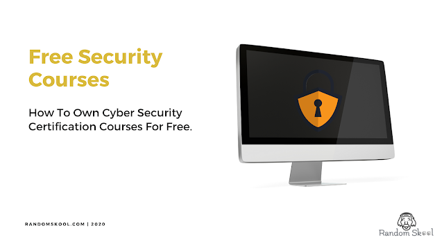 How To Own Cyber Security Certification Courses For Free