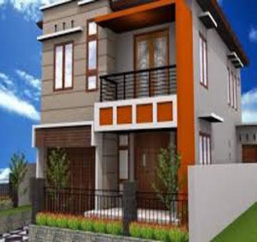 ide desain rumah minimalis 2 lantai 6x12